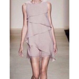 BCBG Max Azria Runway Small Celine Dress Silk Rose
